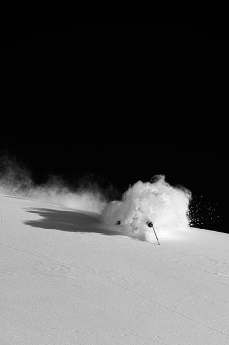 ski freeride snow