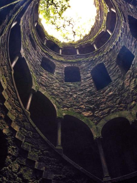 Inverted tower