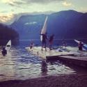 Rowers in Bohinj Lake