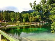 Bohinj Lake after rain