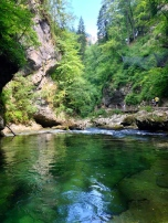 Gorge next to Bled