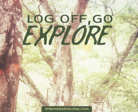 Log off, go EXPLORE